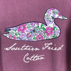 Southern Fried Cotton Duck T-Shirt Size Medium